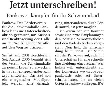 Berliner Woche (Pankow)
